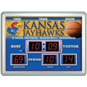KU Basketball Scoreboard