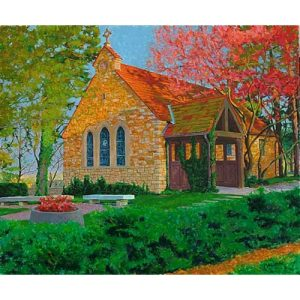 Danforth Chapel Painting at Kansas Universtiy