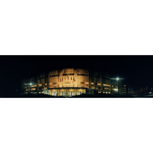 University of Kansas Allen Field House at Night