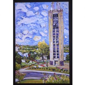 University of Kansas' The Campanile Print