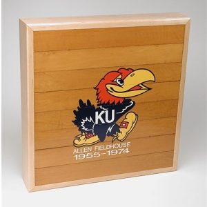 University of Kansas Allen Field House Floor Pieces