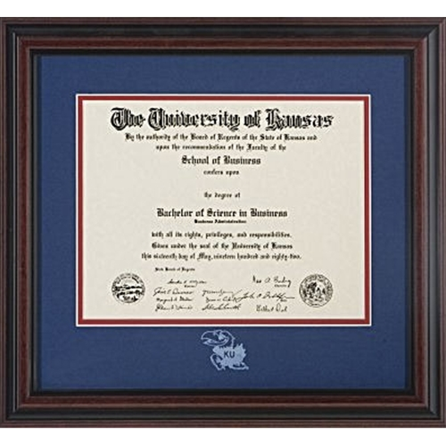 Collectible University of Kansas Diploma
