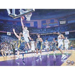 University of Kansas Basketball Game Inside Allen Field House