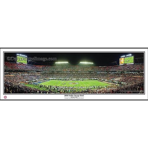 Panoramic View of Memorial Stadium During FedEx Orange Bowl