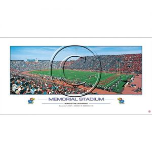 KU Memorial Stadium Collectible Print