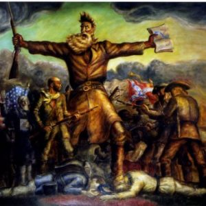 Tragic Prelude Painting Print at Kansas State Capitol