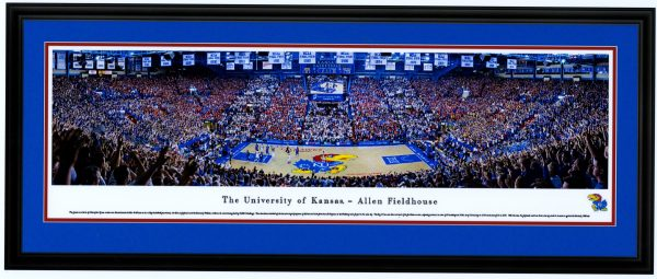 KU vs.Kentucky Panoramic Print - JBKUvUK100