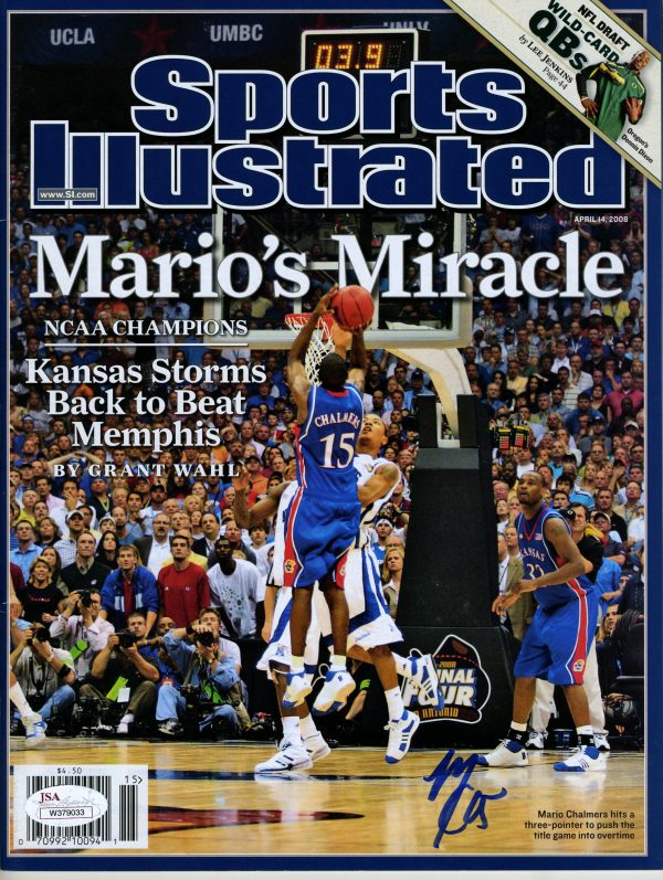 Mario Chalmers Sports Illustrated Cover - Jump Shot While Being Defended