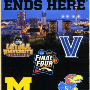2018 Men's Final Four Poster