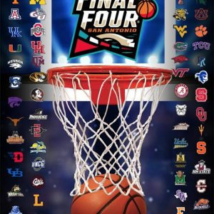 2018 Final Four Poster